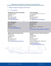 business support programs services Page 1