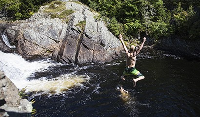 Life - Cliff Jumping